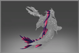 Dota 2 -> Item name: Scale of the Breach Warden -> Modification slot: Спина